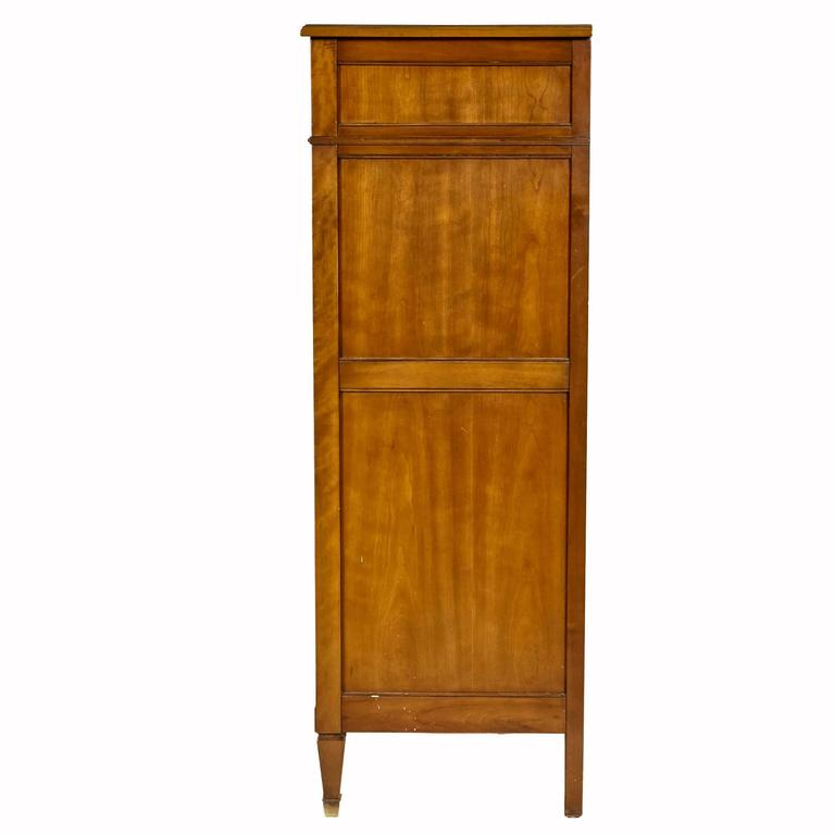 Cherry Wood Tall Dresser by Kindel Furniture Co, 1960s For Sale at 1stdibs