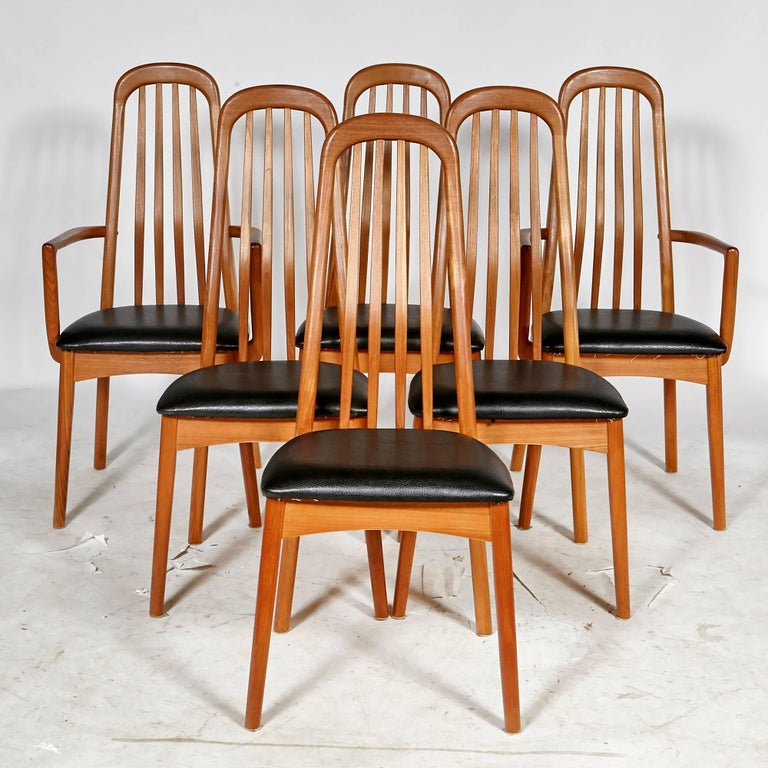 Scandinavian Dining Room Chairs: Benny Linden Scandinavian Style Teak Dining Room Set For