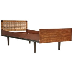 Hans J. Wegner Danish Teak Child's Single Bed for GETAMA, 1960s