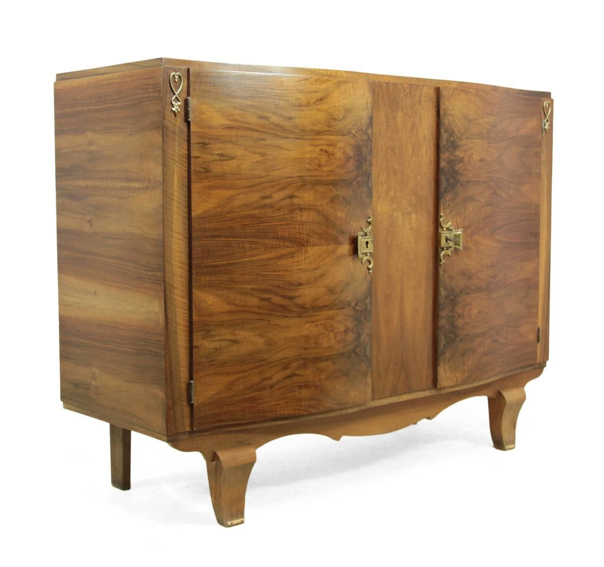 French art deco sideboard circa 1920 for sale at 1stdibs for Art deco era dates