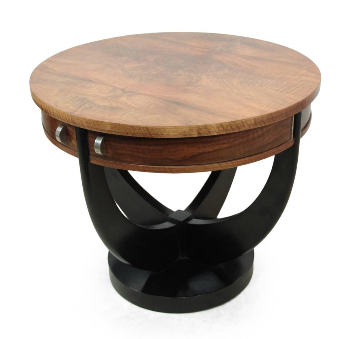 Table Ronde Bois Solde