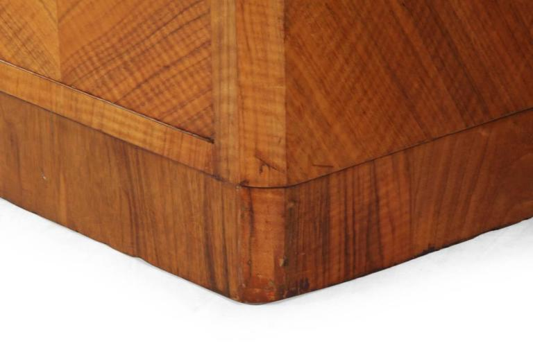 Art Deco Walnut Desk By Maple And Co London Circa 1930 At