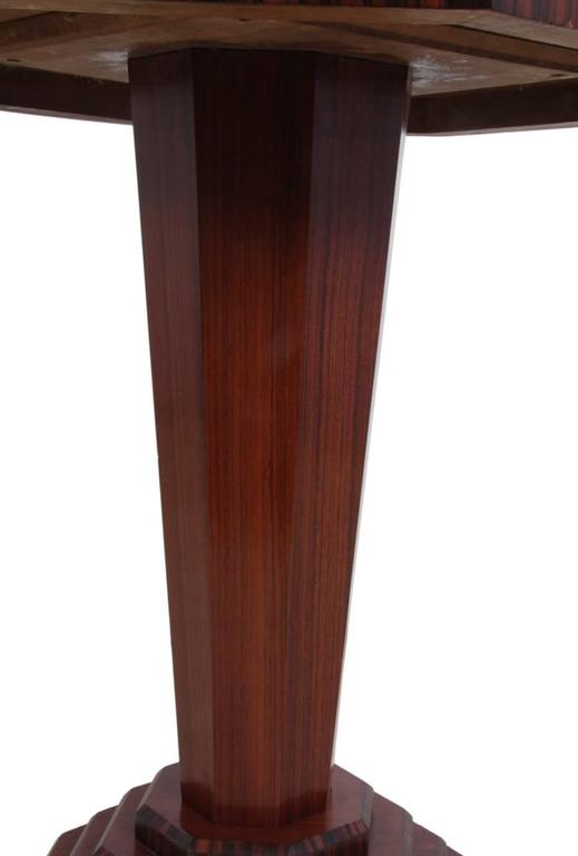 Art deco rosewood and macassar ebony wine table french - Deco table campagne ...