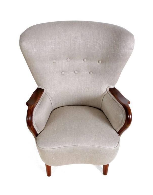 Danish Armchair, circa 1940 In Excellent Condition For Sale In Paddock Wood, Kent