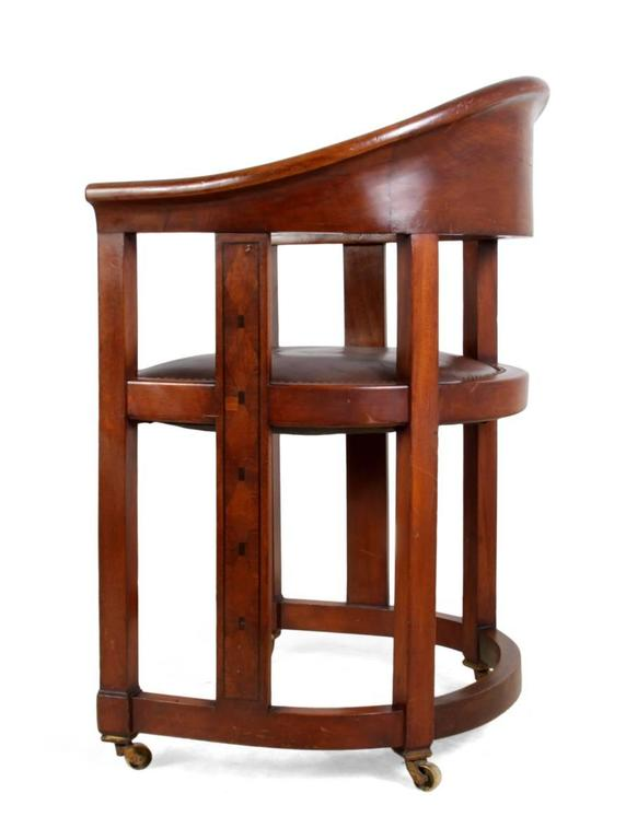 Arts and crafts desk chair circa 1910 at 1stdibs for Crafting desks for sale