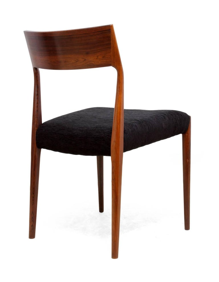 Midcentury Dining Chairs Set of Six For Sale 1