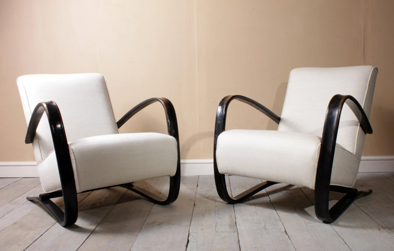 Halabala Armchairs H269 For Sale 1
