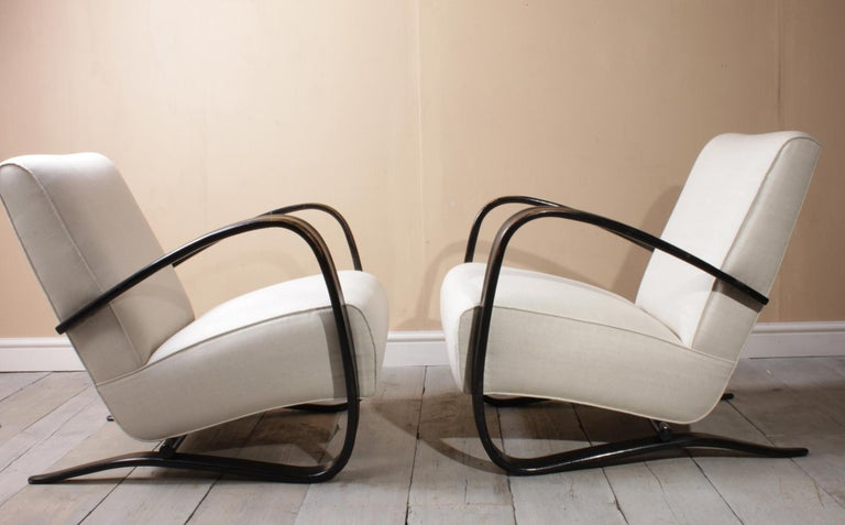 Halabala Armchairs H269 For Sale 2