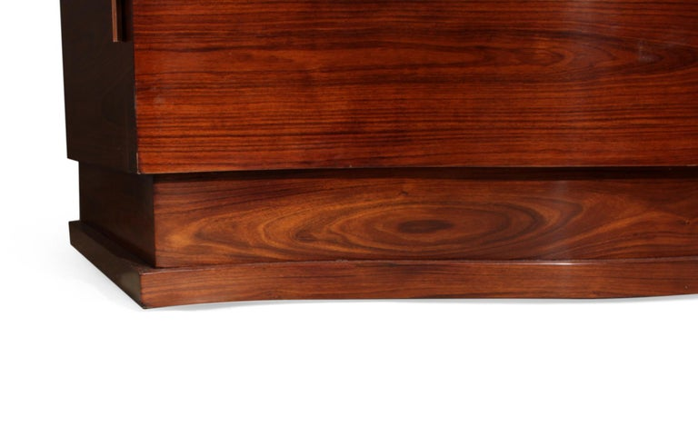 Art Deco Cabinet in Rosewood by Jules Leleu For Sale 5