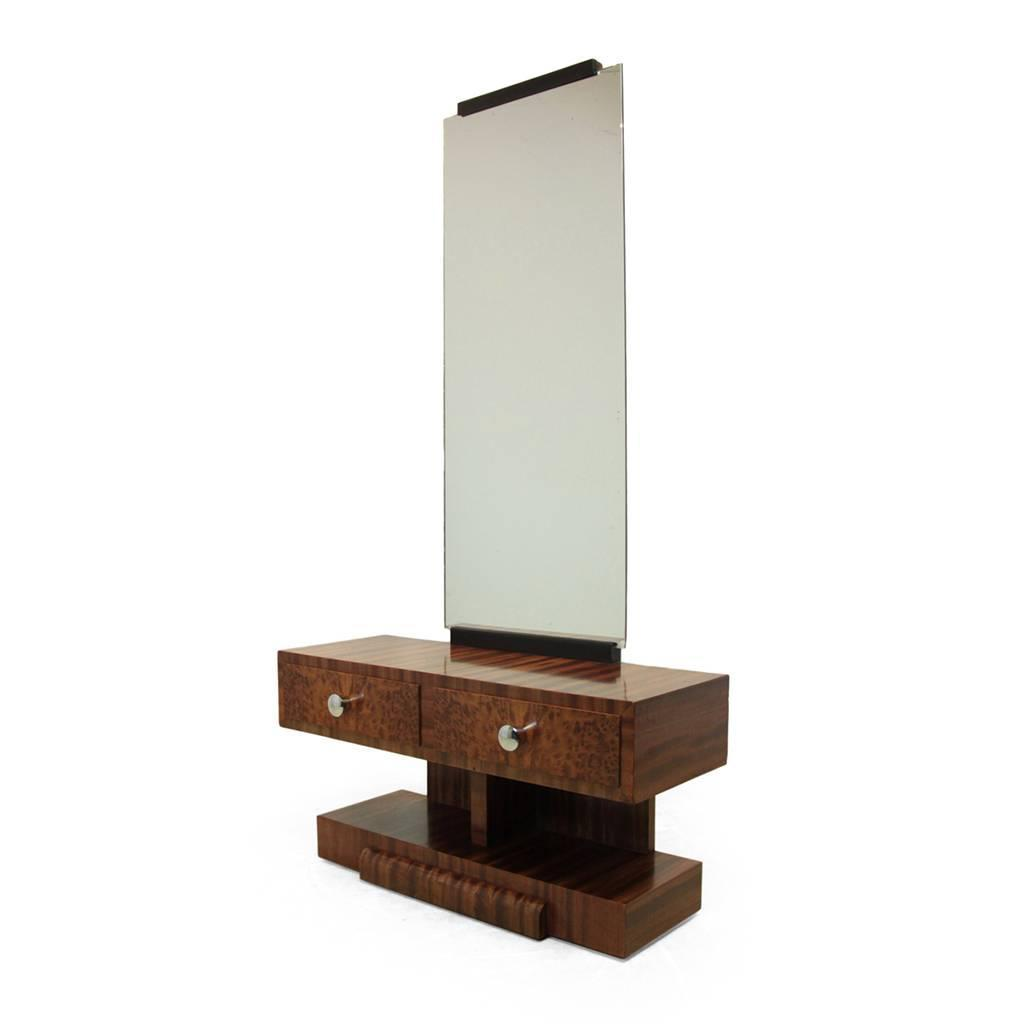 Art deco dressing table french circa 1930 at 1stdibs for 90cm dressing table