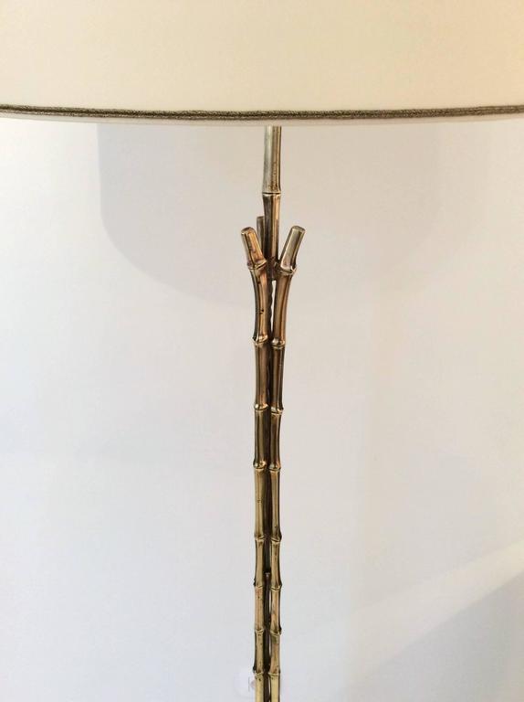 Brass Bamboo Floor Lamp, France, circa 1960 at 1stdibs