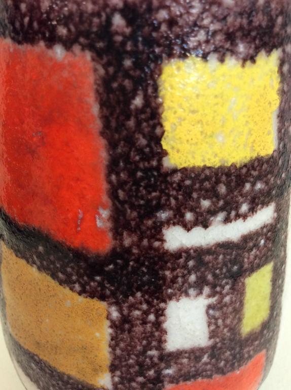 Guido Gambone Glazed Ceramic Vase, 1950s, Italy For Sale 4