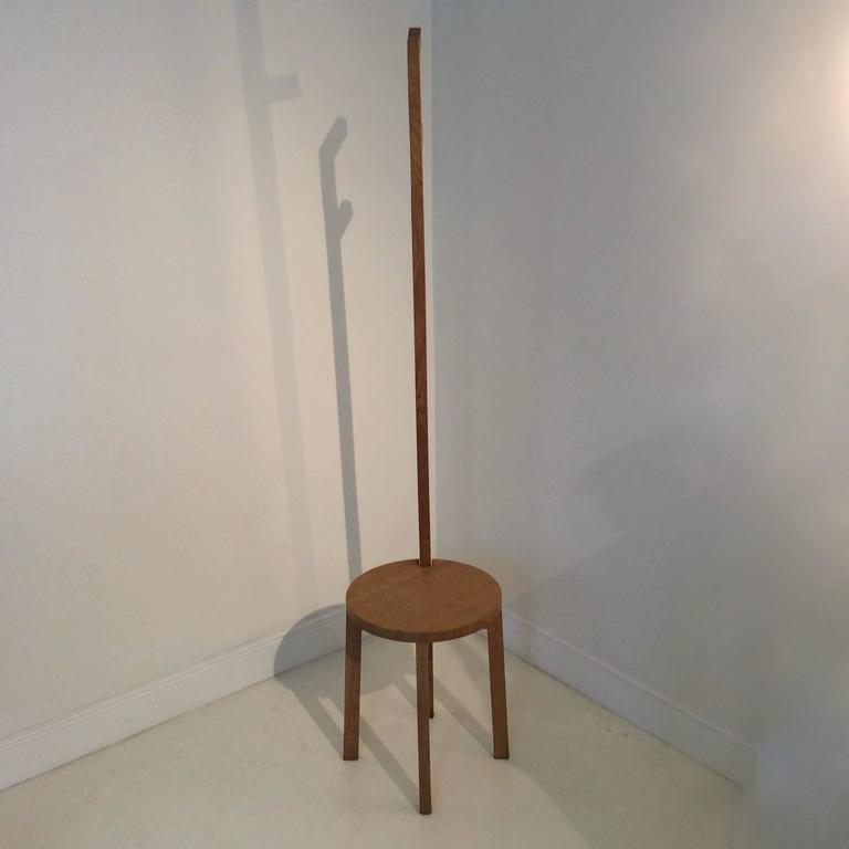 Modern Marina Bautier Coat Hanger-Stool, Prototype, 2007, Belgium For Sale