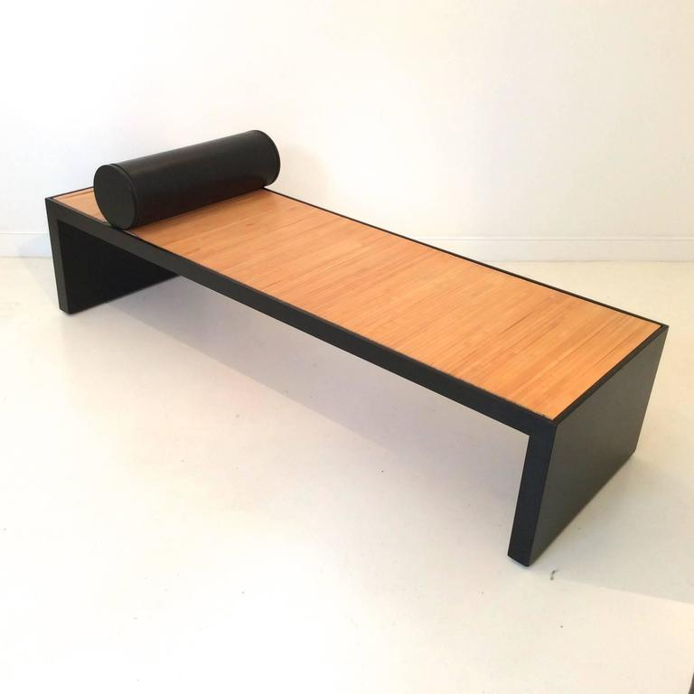 luca meda daybed les beaux jours italy 1987 for sale. Black Bedroom Furniture Sets. Home Design Ideas