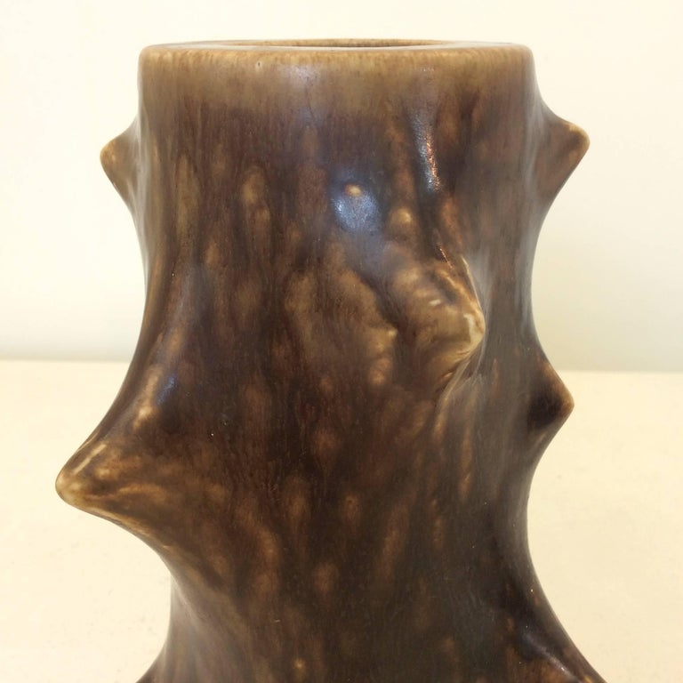 Knud Basse Thorn Vase, circa 1960, Denmark For Sale 2
