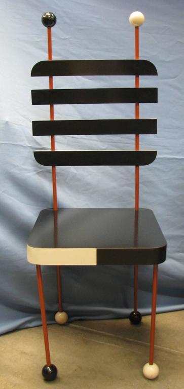 Unique Italian Modernist Five-Piece Dining Set For Sale 1