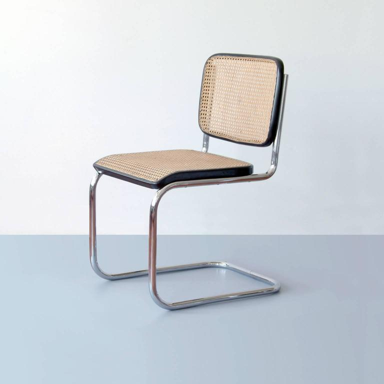 Bauhaus Tubular Steel Cantilever Chairs By Marcel Breuer