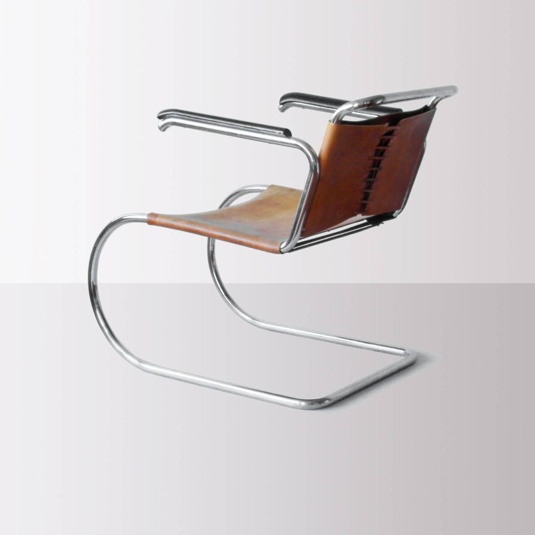 Cantilever MR Armchair-Prototype by Mies van der Rohe ...