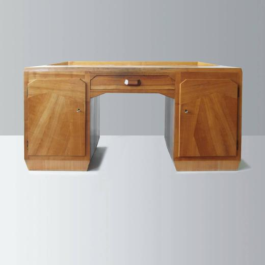 Anthroposophical Wooden Desk Attributed To Felix Kayser Germany