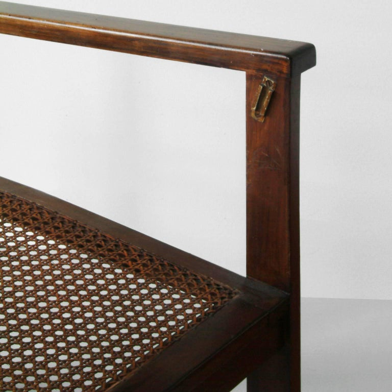 Bauhaus Wooden Armchairs Pair by Peter Keler, Manufactured by Albert Walde, 1930 For Sale 2