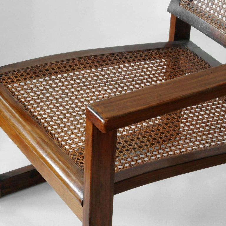Bauhaus Wooden Armchairs Pair by Peter Keler, Manufactured by Albert Walde, 1930 For Sale 3