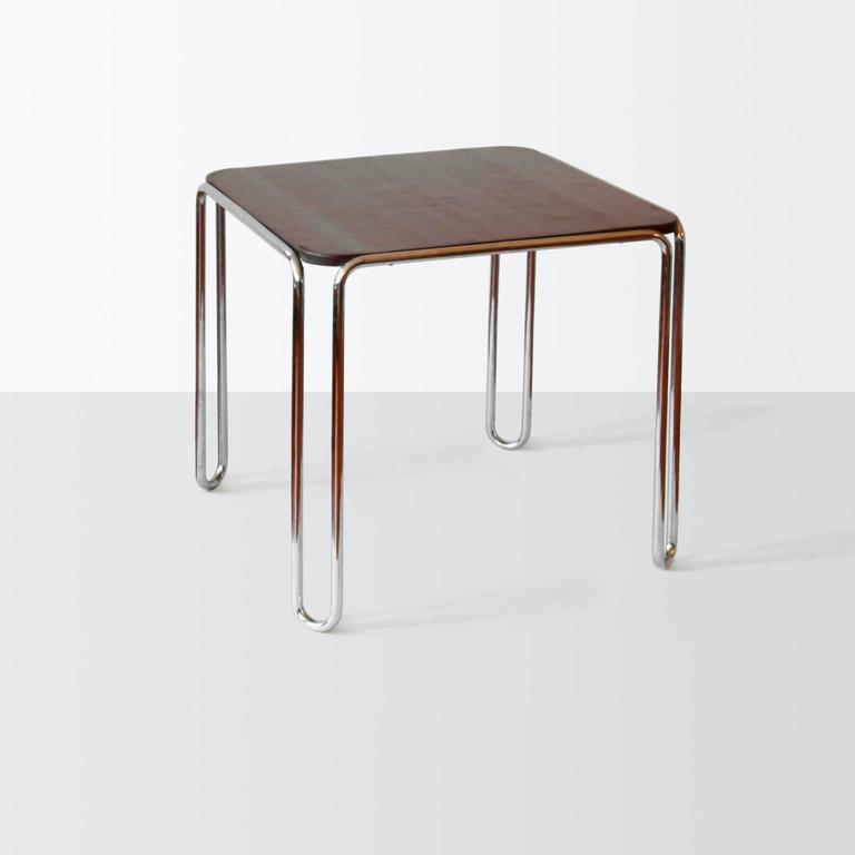 tubular steel b10 table by marcel breuer standard m bel berlin circa 1929 for sale at 1stdibs. Black Bedroom Furniture Sets. Home Design Ideas