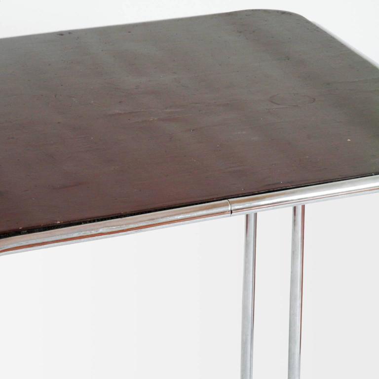 tubular steel b10 table by marcel breuer standard m bel berlin circa 1929 for sale at 1stdibs. Black Bedroom Furniture Sets. Home Design Ideas