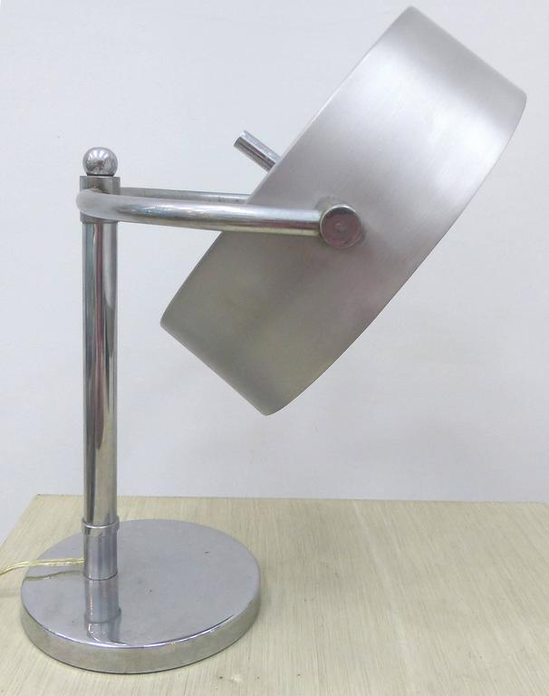 Art Deco Directional Table Lamp By Kurt Versen For Sale At