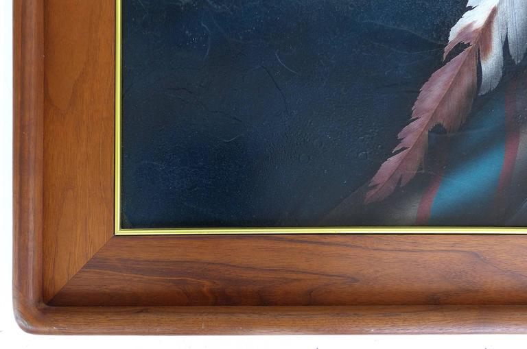 20th Century Southwestern Portrait by Jeff St. John For Sale 1
