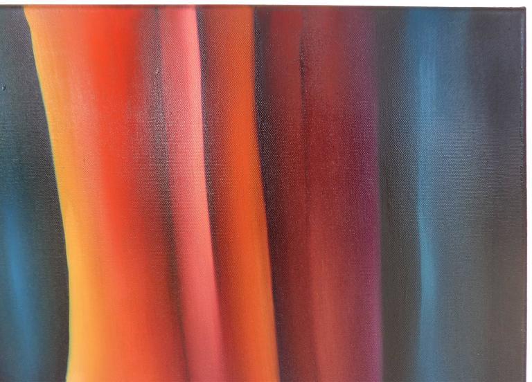Contemporary Cuban American Artist Juan Navarrette Oil Painting  For Sale