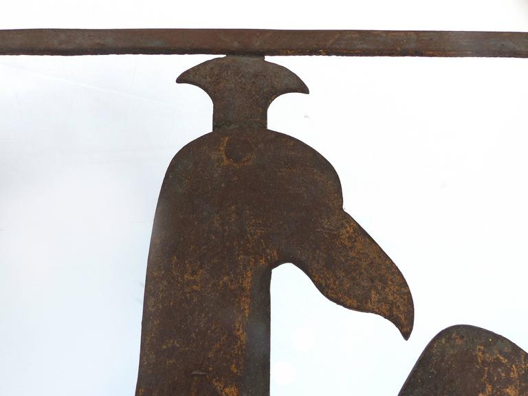 Early 1900s Gilt-Iron Eagle Book-Stand In Good Condition For Sale In Miami, FL