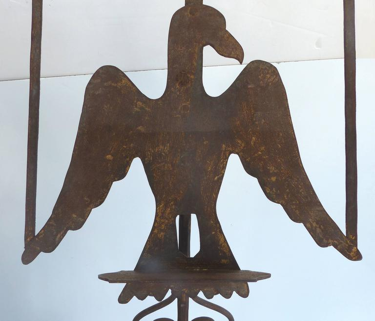 Early 1900s Gilt-Iron Eagle Book-Stand For Sale 5