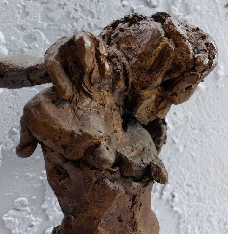 Linda Goodman Bronze Figurative Sculpture For Sale 1
