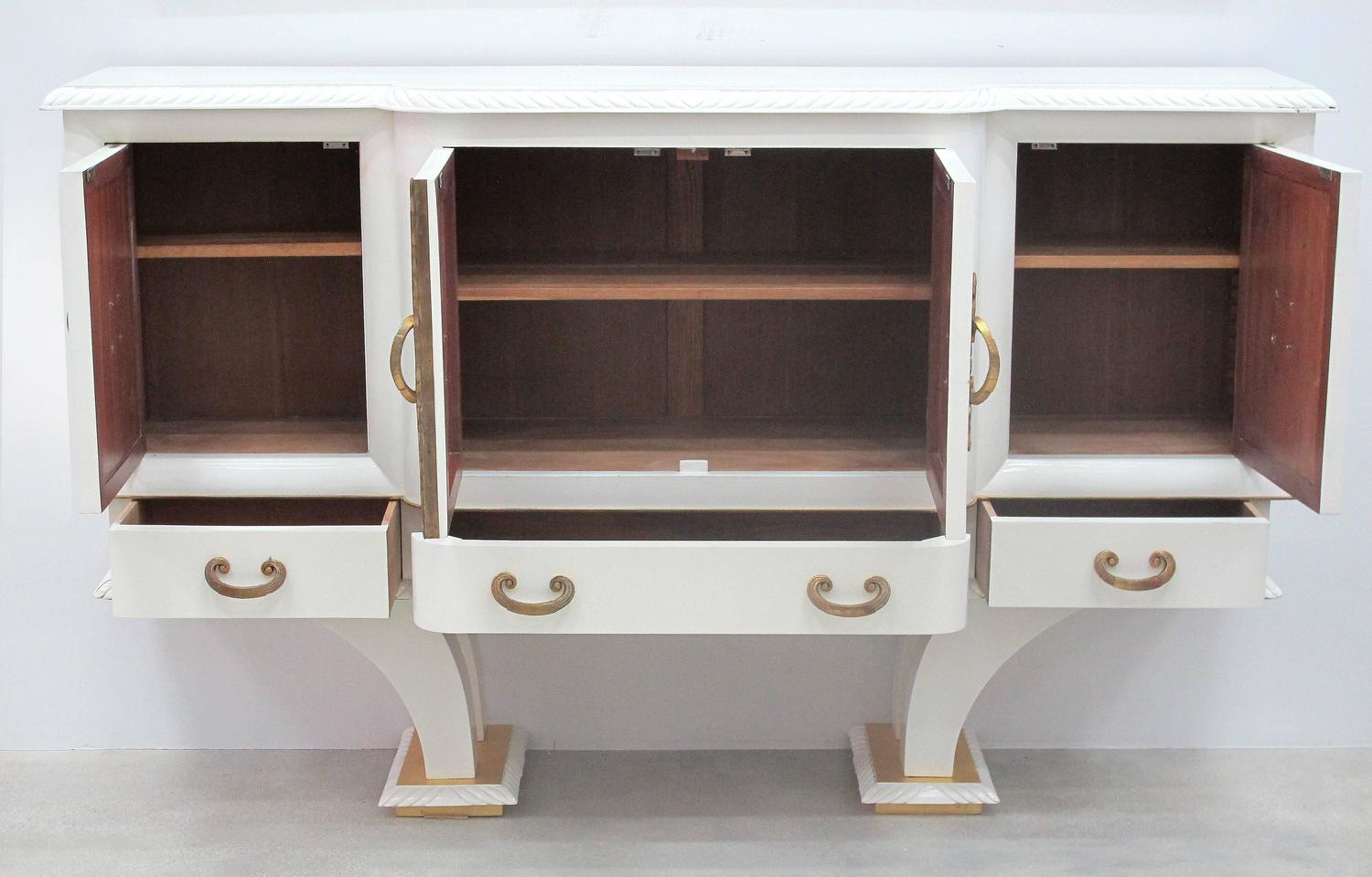 French 1940s lacquered oak cabinet for sale at 1stdibs for 1940s kitchen cabinets for sale