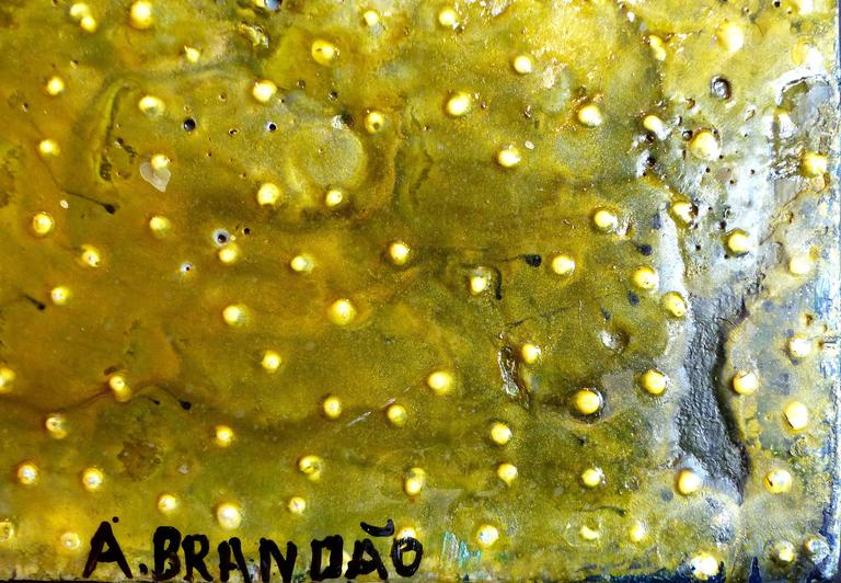 Modern Andre Brandao Abstract Painting Titled