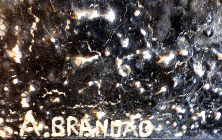 Contemporary Andre Brandao Abstract Painting