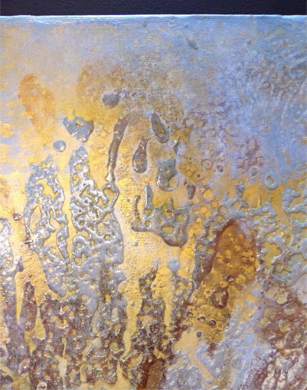 Modern Brazilian Artist Andre Brandao Abstract Painting