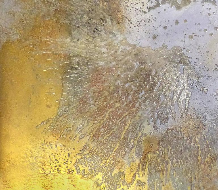Brazilian Artist Andre Brandao Abstract Painting