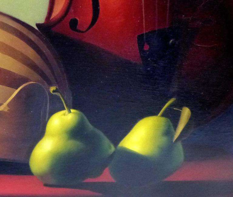 Modern Contemporary Oil on Canvas by Argentine Artist Nicolas Fasolino For Sale