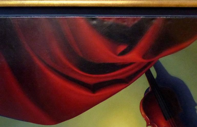 Contemporary Oil on Canvas by Argentine Artist Nicolas Fasolino For Sale 2