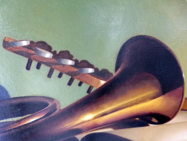 Contemporary Oil on Canvas by Argentine Artist Nicolas Fasolino For Sale 4