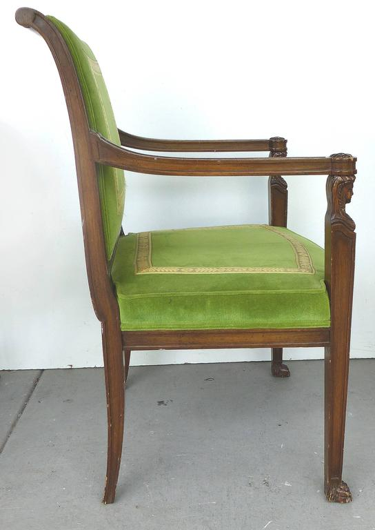20th Century Renasaince Cocheo Bros Fine Quality Chairs Pair For Sale At 1stdibs