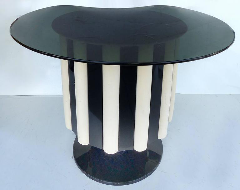 Late 20th Century 1970s Mid-Century Modern Chromecraft Acrylic & Chrome Dry Bar with Two Stools For Sale