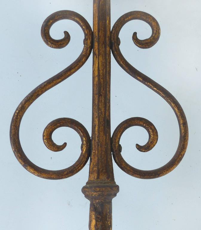 Early 1900s Gilt-Iron Eagle Book-Stand For Sale 1