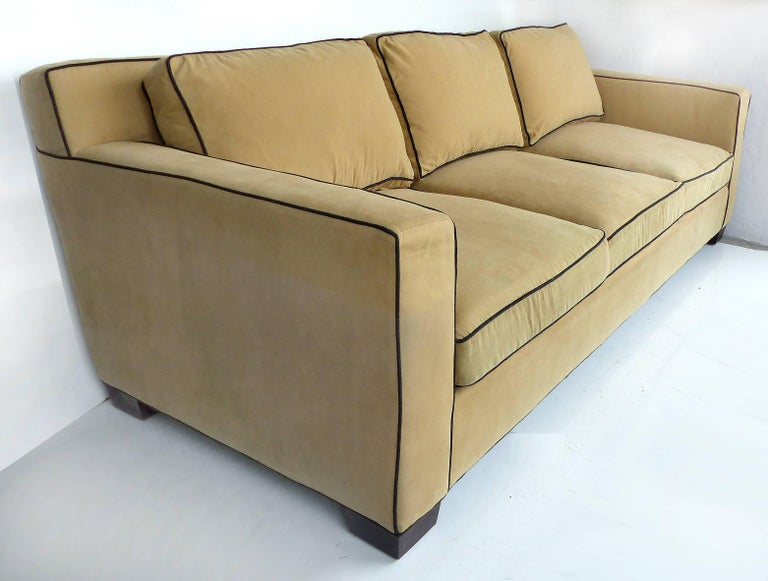 Ralph Lauren Graham Sofa With Down Cushions By Henredon
