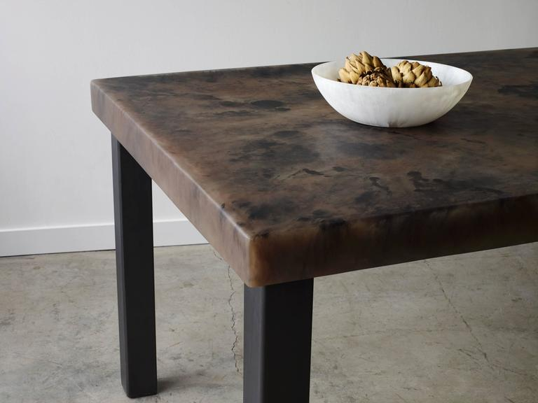 Modern Sturdy Dining Table For Sale