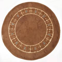 Round Rug by LELEU Decoration, circa 1930