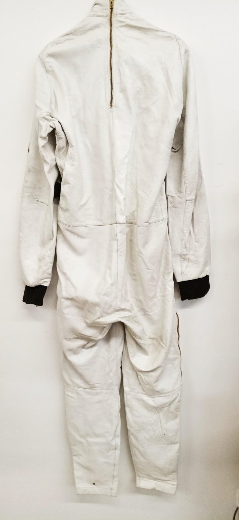 French leather stratospheric pilot suit SGP Type 21 (Mirage III), circa 1962. In perfect vintage condition.