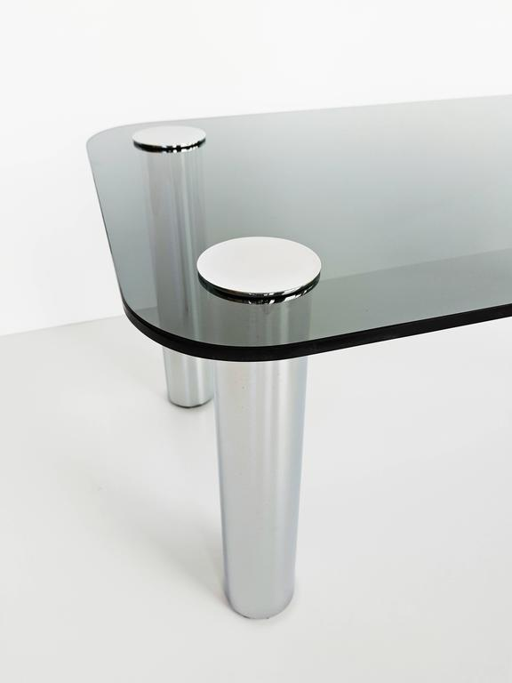 Italian Coffee Table by Marco Zanuso for Zanotta, 1970s For Sale