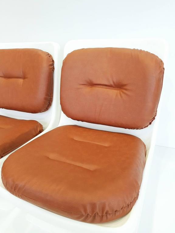 Albert Jacob Armchairs for Grosfillex, 1970s In Excellent Condition For Sale In L'Escala, ES